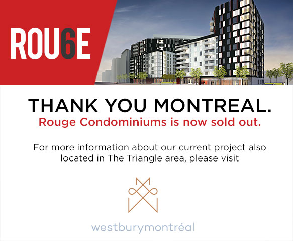 Rouge Condominiums is sold out!