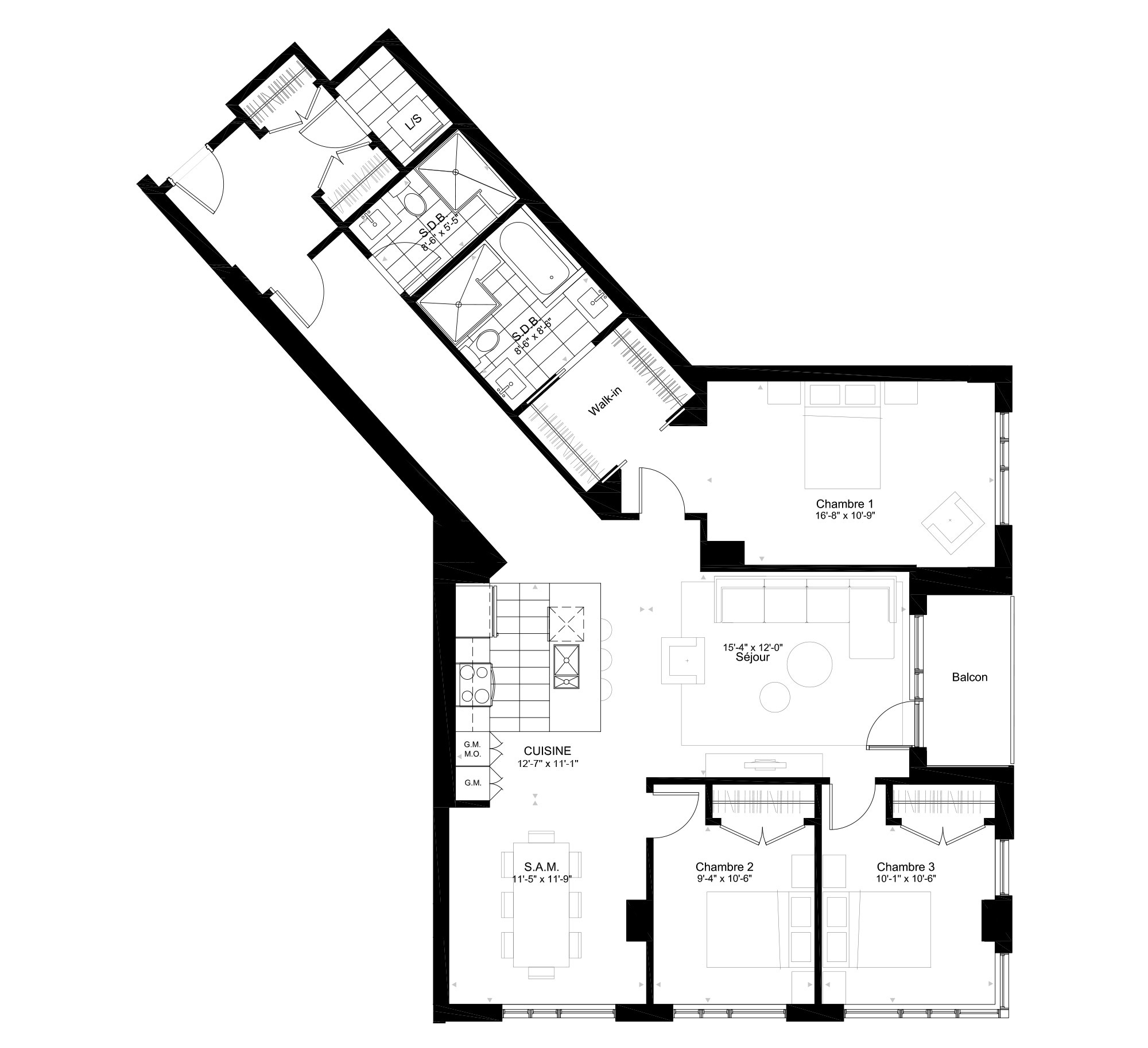 The 817 Condominium Rouge Condominiums