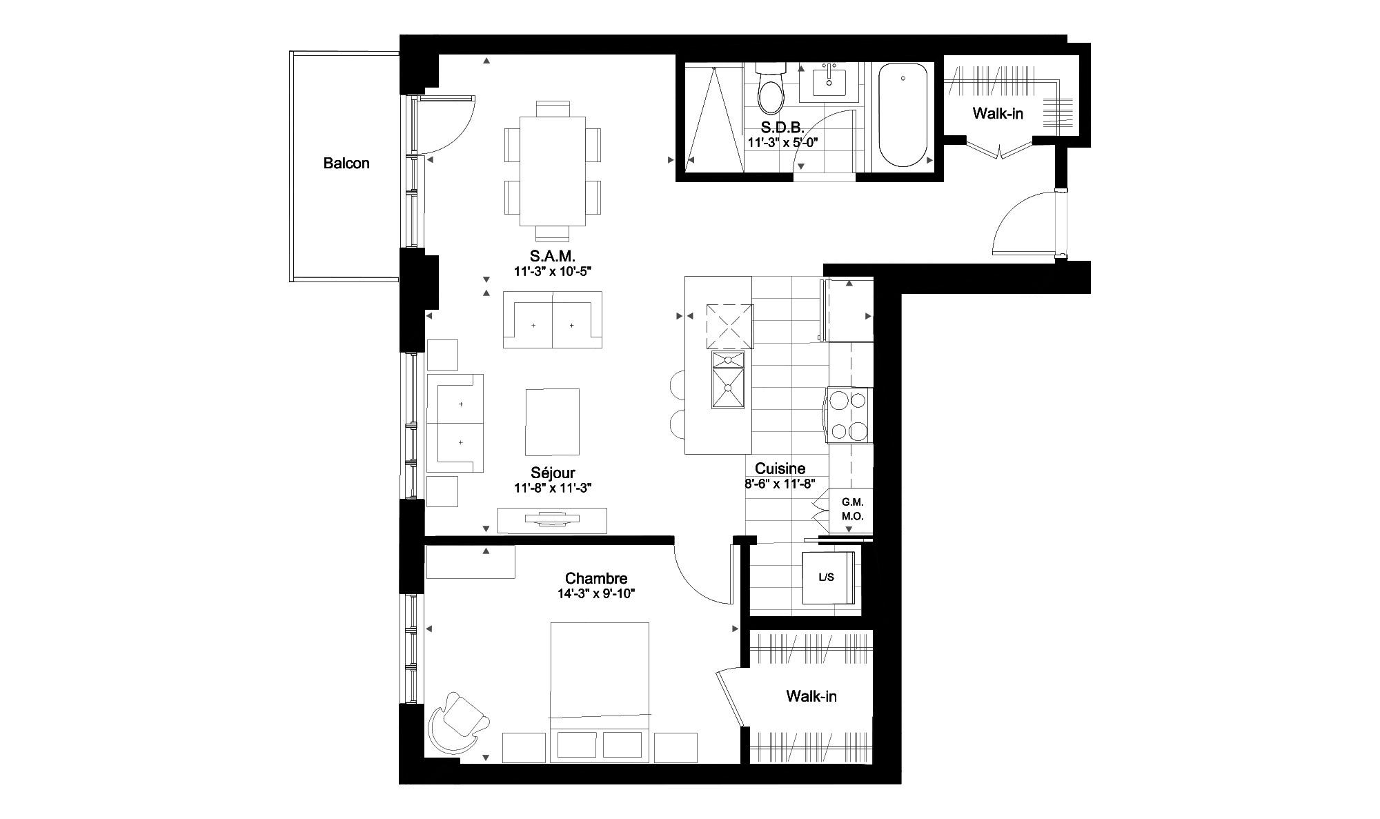 The 509 Condominium Rouge Condominiums